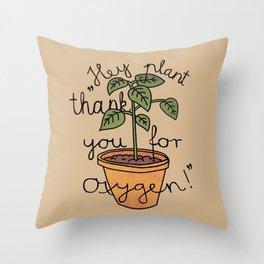 Thanks! Throw Pillow