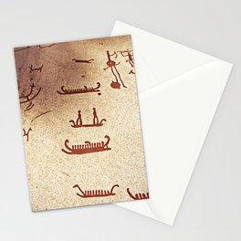 Pictogram at Vitlycke, Sweden 9 Stationery Cards
