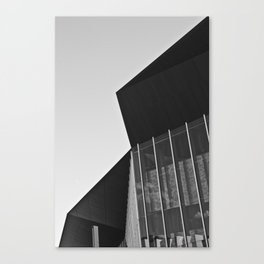Polygon (South Wharf, 2011) Canvas Print