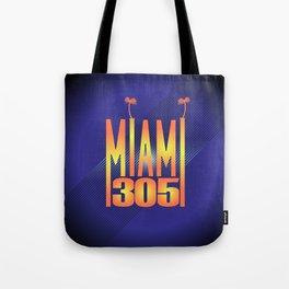 Miami   305 Tote Bag
