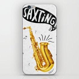 Saxting iPhone Skin