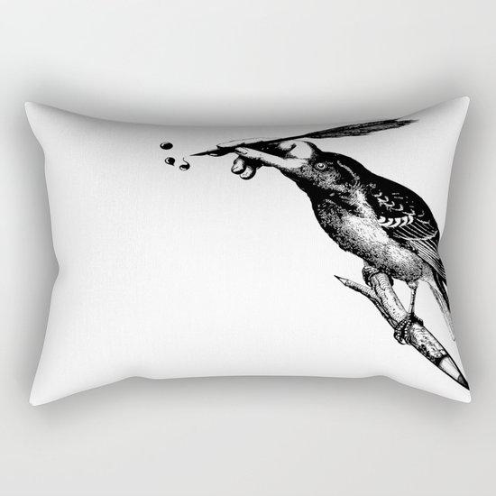 The Experimetal Artist Rectangular Pillow