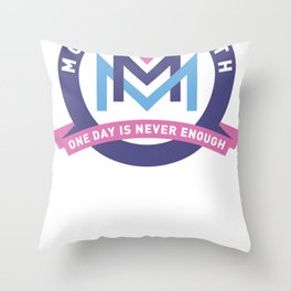 2012 Official Badge Throw Pillow