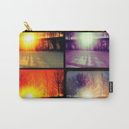 Four Sunsets Carry-All Pouch