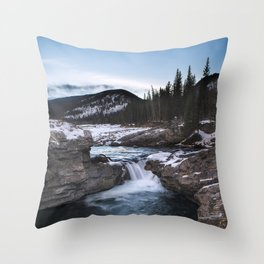 Elbow Falls Throw Pillow