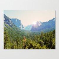yosemite Canvas Prints featuring Yosemite by Chelem
