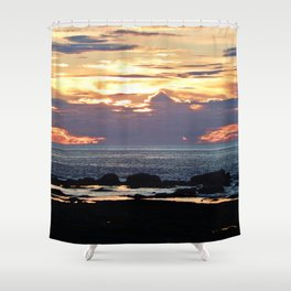 Firestorm Ends the Day Shower Curtain