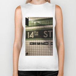 14th Street Station Biker Tank