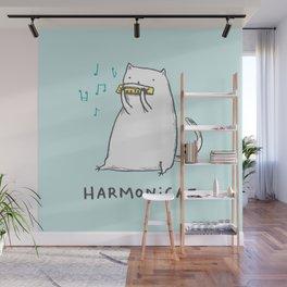 Harmonicat Wall Mural
