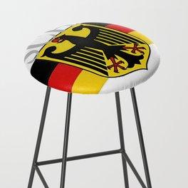 Deutschland ...German Flag and Eagle Bar Stool