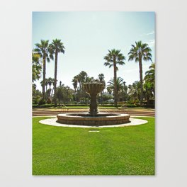 Santa Barbara Fountain 2500 Canvas Print