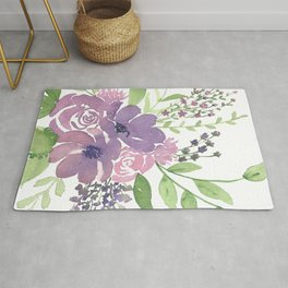 Roses and Anemones Rug