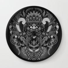Majestic Garuda Wall Clock