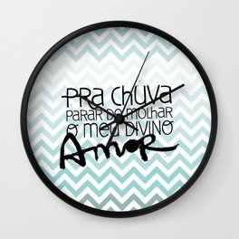 Chuva Wall Clock