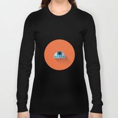 R2D2 2015 Flat Design Episode VII Long Sleeve T-shirt