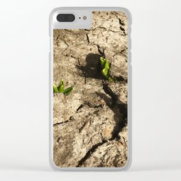 Breaking Through Clear iPhone Case