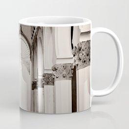 The Historic Arches in the Synagogue of Santa María la Blanca, Toledo Spain (4) Coffee Mug