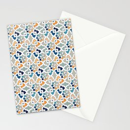 Geometric Pattern - Oriental Design Stationery Cards