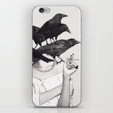 Neither Poor Nor Innocent iPhone Skin