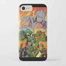 TMNT HEROES IN THE HALF SHELL iPhone Case