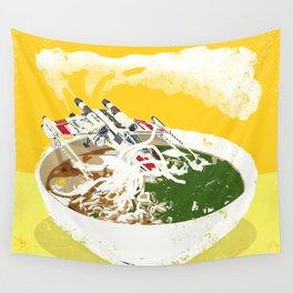 """X-Wing Ramen"" by Showdeer Wall Tapestry"
