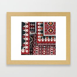 Arabic Woven Carpets Framed Art Print