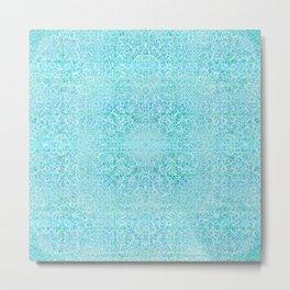 Brian's Bubbliscious Pattern (Minty Fresh) Metal Print