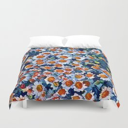 chrydsanthemum Duvet Cover