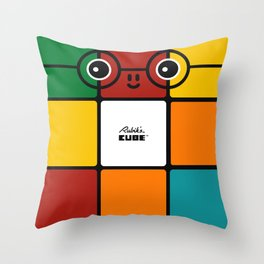 Rubik Throw Pillow