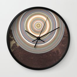 Washed Out Wall Clock