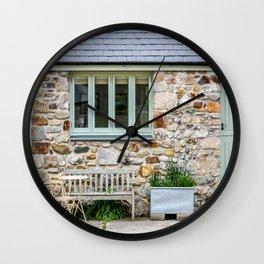 Little Goonreeve Farm - Old Farm Cottage Wall Clock