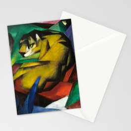 """""""The Tiger"""" by Franz Marc, 1912 Stationery Cards"""
