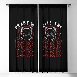 Praise The Dark Lord Blackout Curtain