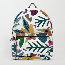 Golden Flora Backpack