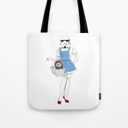Dorothy trooper Tote Bag