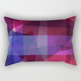 ultraviolet space Rectangular Pillow