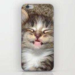 Kitten Smile iPhone Skin