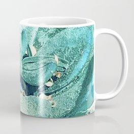 Teal-Green Succulent After Desert Dust Storm Coffee Mug