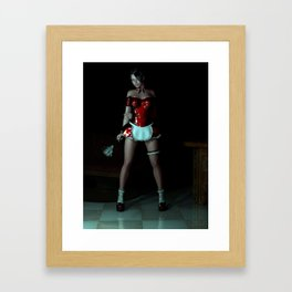 The Cleaner Framed Art Print