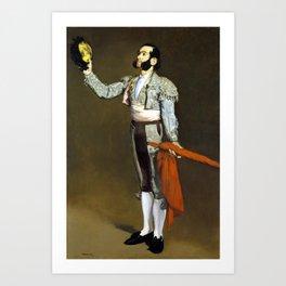 Édouard Manet A Matador Art Print