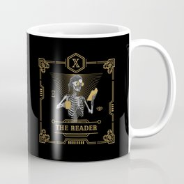 The Reader X Tarot Card Coffee Mug
