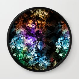 Black garden Wall Clock