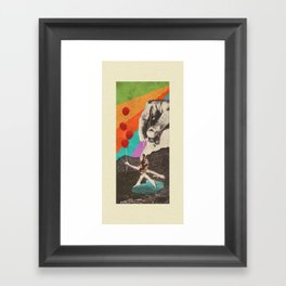 Drastic Vacation Framed Art Print
