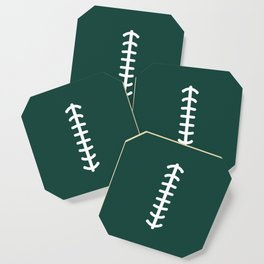Football Green Coaster