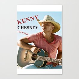 KENNY CHESNEY TOUR WORLD 2018 Canvas Print