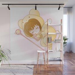 good night sakura Wall Mural