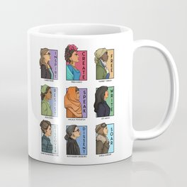 She Series - Real Women Collage Version 1 Coffee Mug