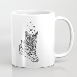 Star Wolf Coffee Mug
