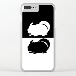 Chinchilla Clear iPhone Case