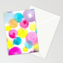 Confetti paint Stationery Cards